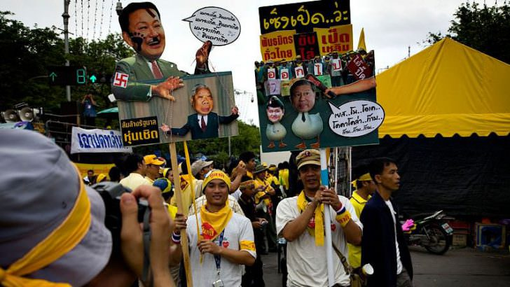 バンコク デモ