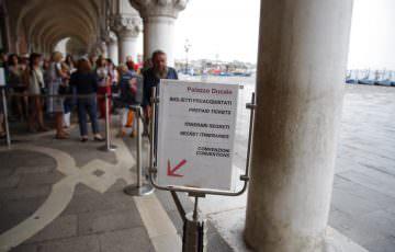 ドゥカーレ宮殿 入場口