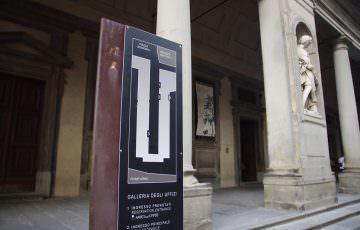 ウフィッツィ美術館 3つの窓口